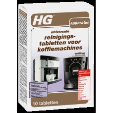 HG UNIVERSELE REINIGINGSTABLETTEN VOOR KOFFIEMACHINES NL 10 PCS