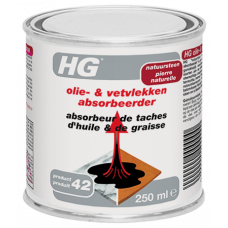 HG OLIE & VETVLEKKEN ABSORBEER 250 ML (NR 42)