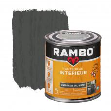RAMBO INTERIEURLAK TRANSPARANT MAT 0774 ANTRACIET GRIJS 250ML