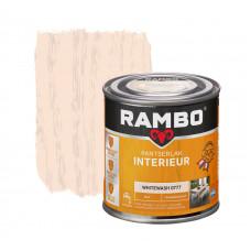 RAMBO INTERIEURLAK TRANSPARANT MAT 0777 WHITE WASH 250ML