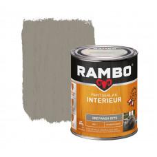 RAMBO INTERIEURLAK TRANSPARANT MAT 0779 GREY WASH 750ML